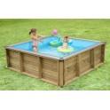 La Pistoche - piscine en bois hors sol pour enfants